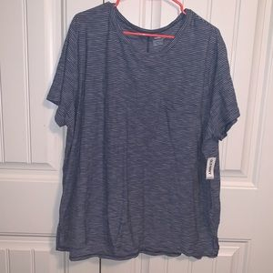 "Women's ""boyfriend"" top"
